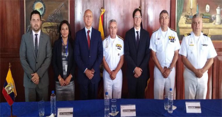 Funcionarios de Perú y Ecuador intercambian experiencias en materia de supervisión y fiscalización pesquera