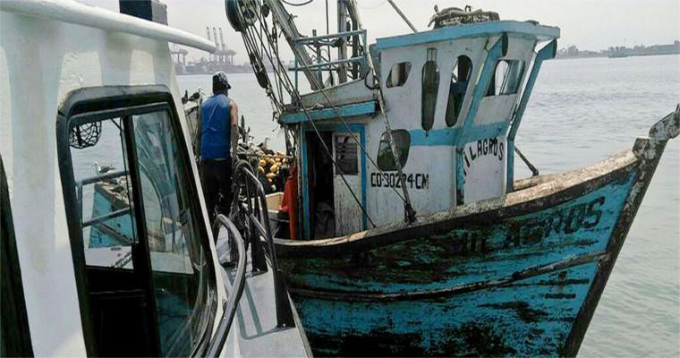Ministerio de la Producción interviene embarcaciones pesqueras frente a la Costa Verde