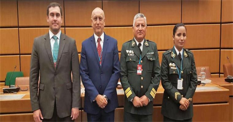 Ministerio de la Producción participó en reunión mundial sobre delitos pesqueros realizada en Austria